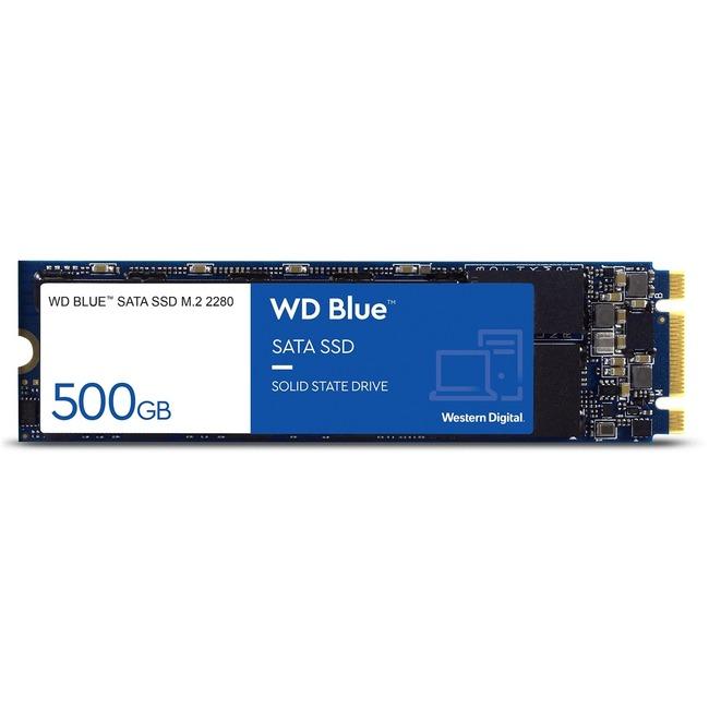 WD Blue 3D NAND 500GB PC SSD - SATA III 6 Gb/s M.2 2280 Solid State Drive