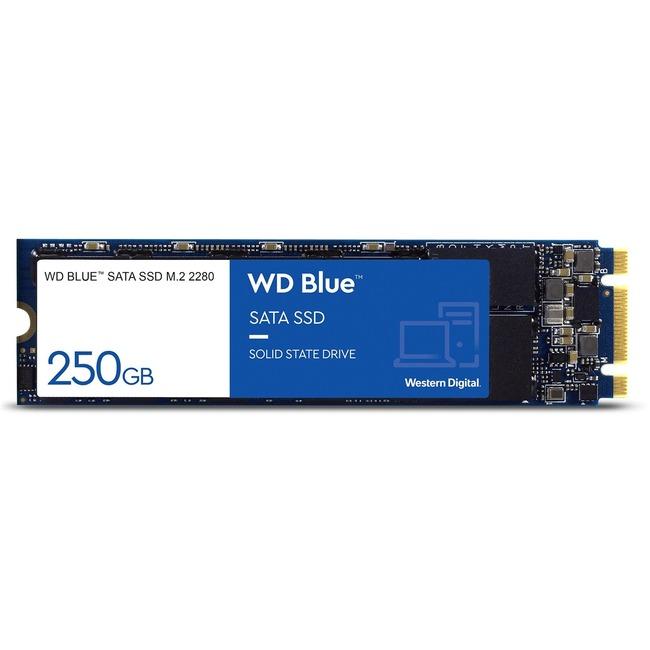 WD Blue 3D NAND 250GB PC SSD - SATA III 6 Gb/s M.2 2280 Solid State Drive