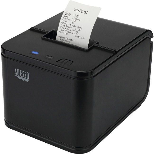 Adesso NuPrint 210 Direct Thermal Printer - Monochrome - Desktop - Receipt Print