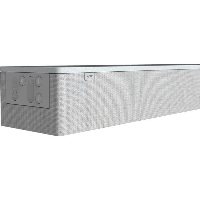 AMX Acendo Vibe ACV-2100GR Sound Bar Speaker - Wireless Speaker(s) - Wall Mountable, Tabletop - Gray