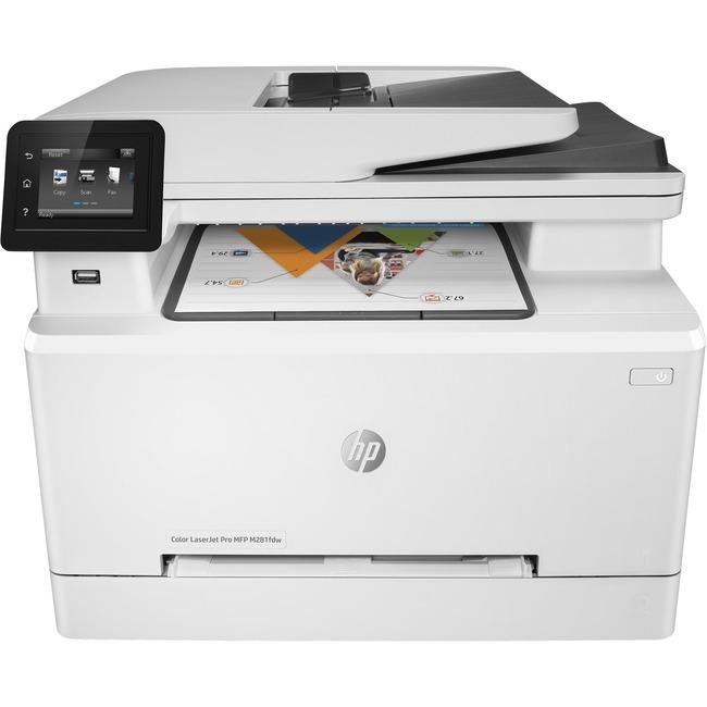 HP LaserJet Pro M281fdw Laser Multifunction Printer - Color - Plain Paper Print - Desktop