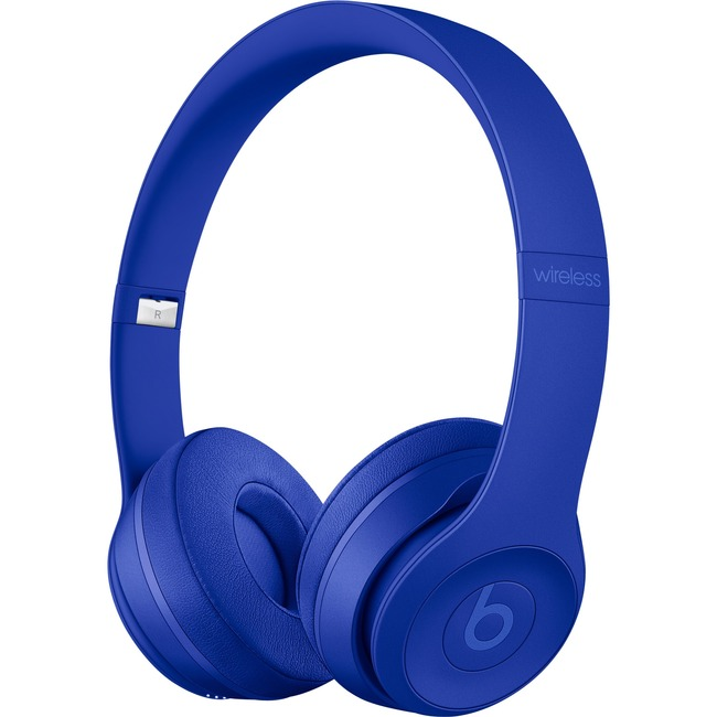 Beats by Dr. Dre Solo3 Wired/Wireless Bluetooth Stereo Headset - Over-the-head - Circumaural - Break Blue