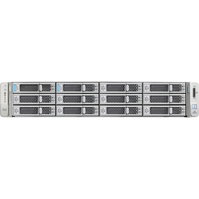 Cisco Barebone System - 2U Rack-mountable - Intel C620 Chipset - 2 x Processor Support