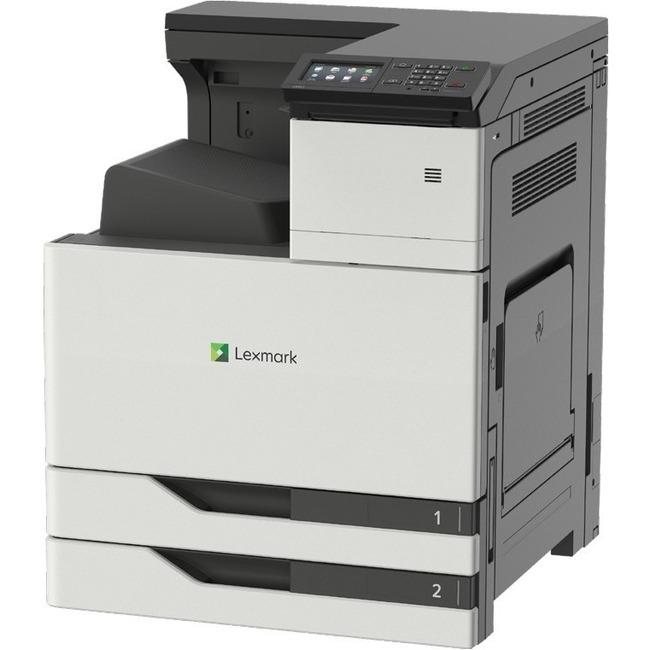 Lexmark CS920 CS921de Laser Printer - Color - 1200 x 1200 dpi Print - Plain Paper Print - Floor Standing - TAA Compliant
