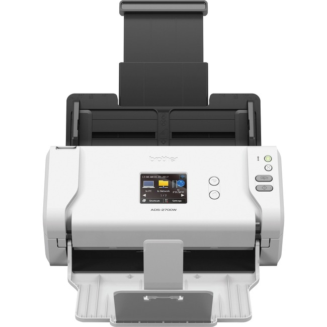 Brother ADS-2700W Cordless Sheetfed Scanner - 600 dpi Optical
