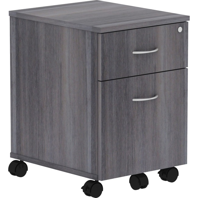 Lorell Relevance Series Charcoal Laminate Office Furniture