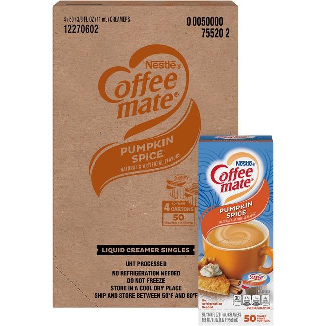 Coffee-Mate Pumpkin Spice Nondairy Creamers