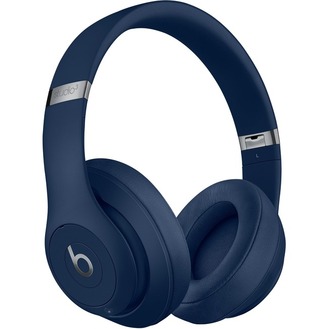 Beats by Dr. Dre Studio3 Wired/Wireless Bluetooth Stereo Headset - Over-the-head - Circumaural - Blue