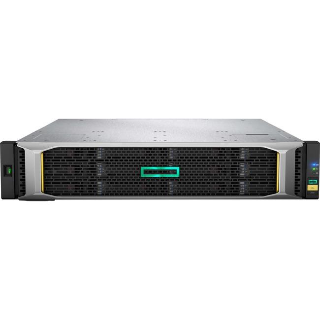 HP MSA 2052 SAS Dual Controller SFF Storage