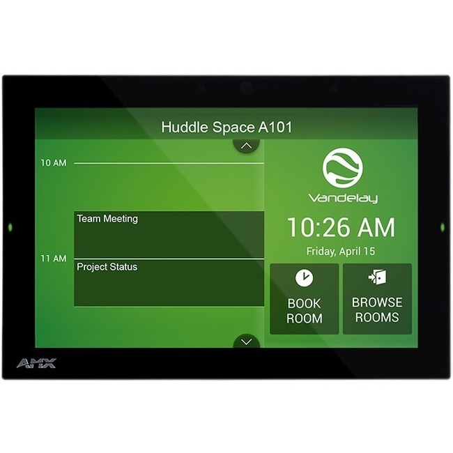 "AMX ACB-2110, 10.1"" Acendo Book Scheduling Touch Panel"