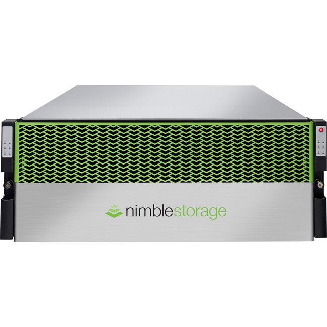 HP Nimble Storage SF100 Secondary Flash Dual Controller 10GBASE-T 2-port Base Array