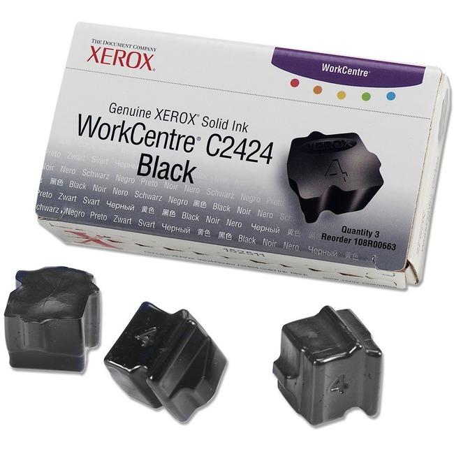 Xerox Black Solid Ink Sticks