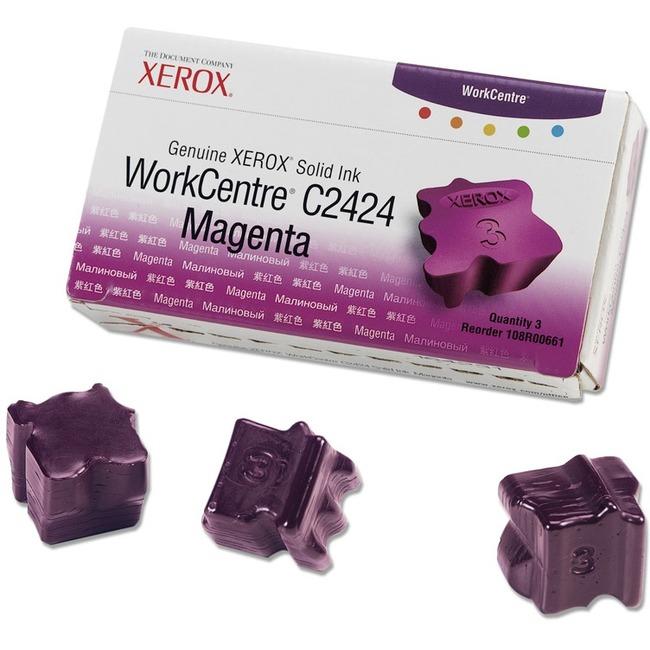 Xerox Magenta Solid Ink Sticks