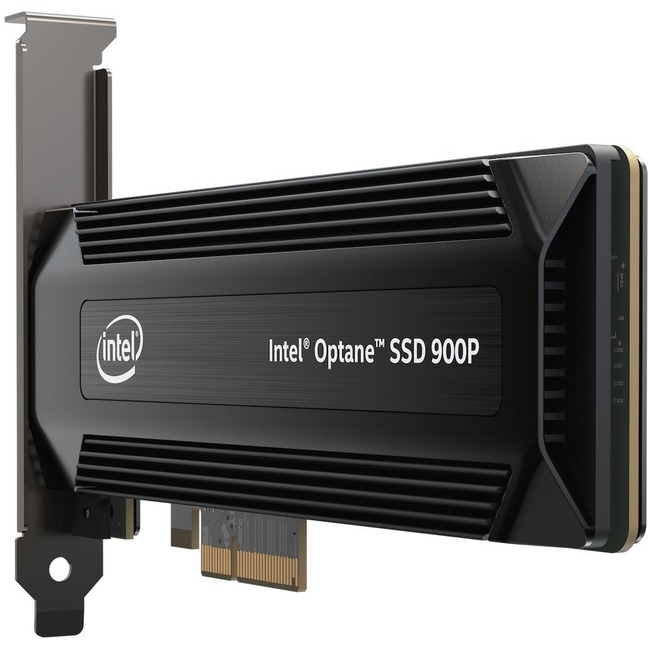 Intel Optane 900P 280 GB Internal Solid State Drive - PCI Express - Plug-in Card