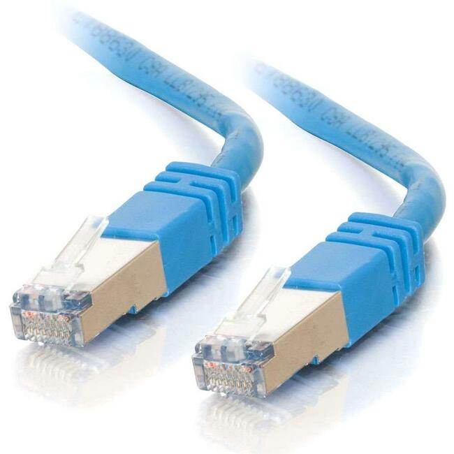 100ft Cat5e Molded Shielded (STP) Network Patch Cable - Blue