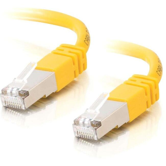100ft Cat5e Molded Shielded (STP) Network Patch Cable - Yellow