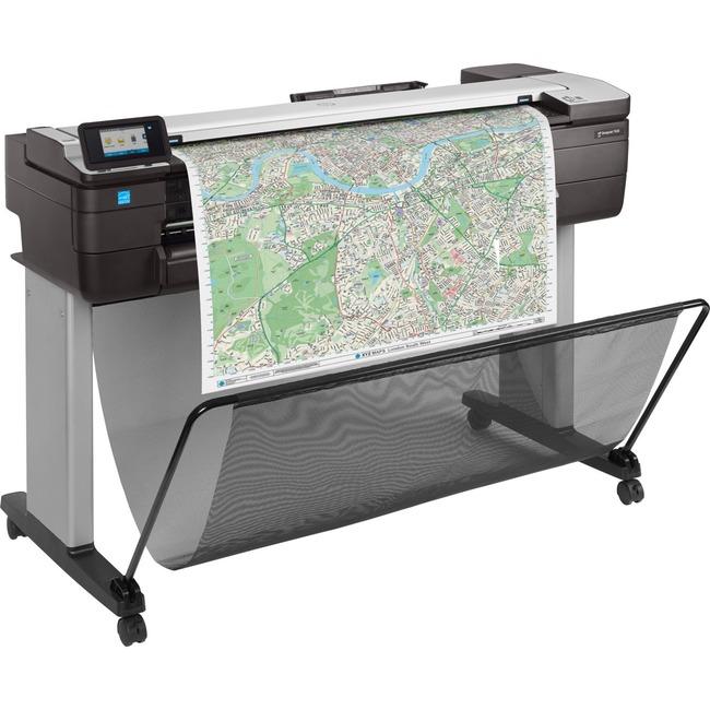 """HP Designjet T830 Inkjet Large Format Printer - 24"""" Print Width - Color"""