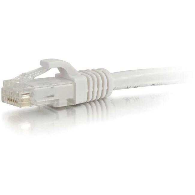 5ft Cat6 Snagless Unshielded (UTP) Network Patch Cable | White