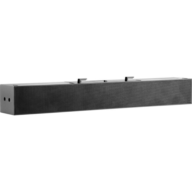 HP S100 Sound Bar Speaker - 2.80 W RMS - Black