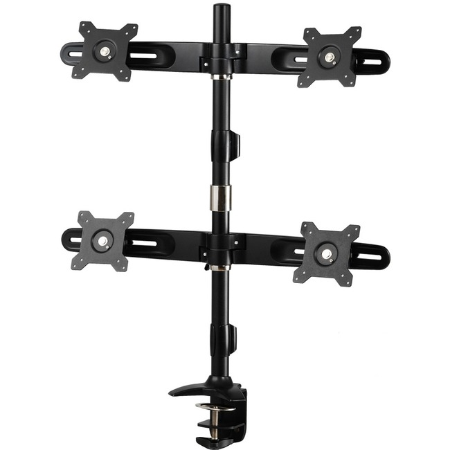 Amer Mounts Desk Mount for Flat Panel Display 24And#34; Screen Support