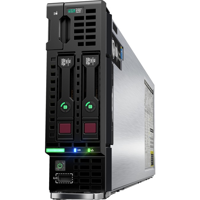 HPE ProLiant BL460c G10 Blade Server - 2 x Intel Xeon Gold 6148 Icosa-core (20 Core) 2.40 GHz - 192 GB Installed DDR4 SD