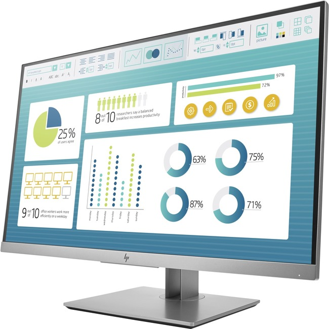 """HP Business E273 27"""" LED LCD Monitor - 16:9 - 5 ms"""