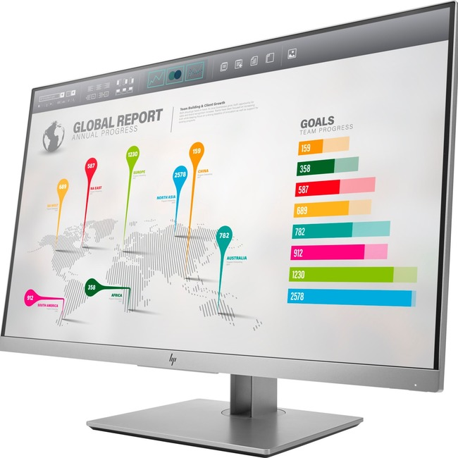 "HP Business E273q 27"" LED LCD Monitor - 16:9 - 5 ms"