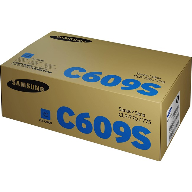 HP CLT-C609S Toner Cartridge - Cyan