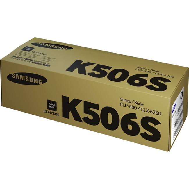 HP CLT-K506S Toner Cartridge - Black