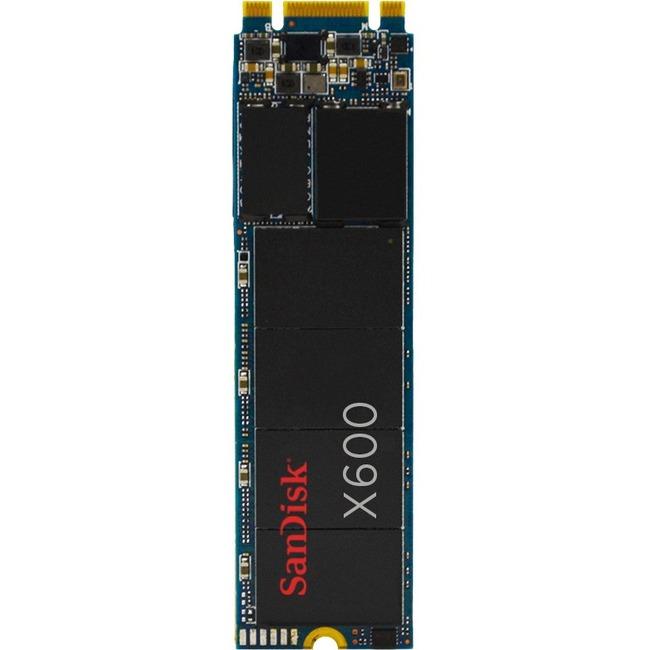 SanDisk X600 128 GB Solid State Drive - SATA (SATA/600) - Internal - M.2 2280