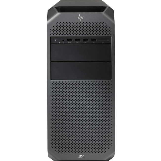 HP Z4 G4 Workstation - 1 x Intel Xeon W-2125 Quad-core (4 Core) 4 GHz - 8 GB DDR4 SDRAM - 256 GB SSD - Windows 10 Pro 64