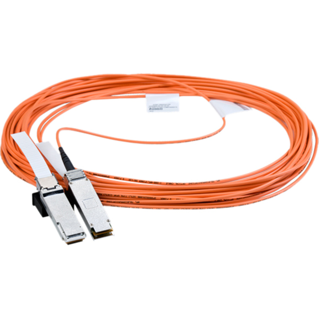 Mellanox MC2210310-030 Fibre Optic Network Cable for Network Device - 30 m - QSFP