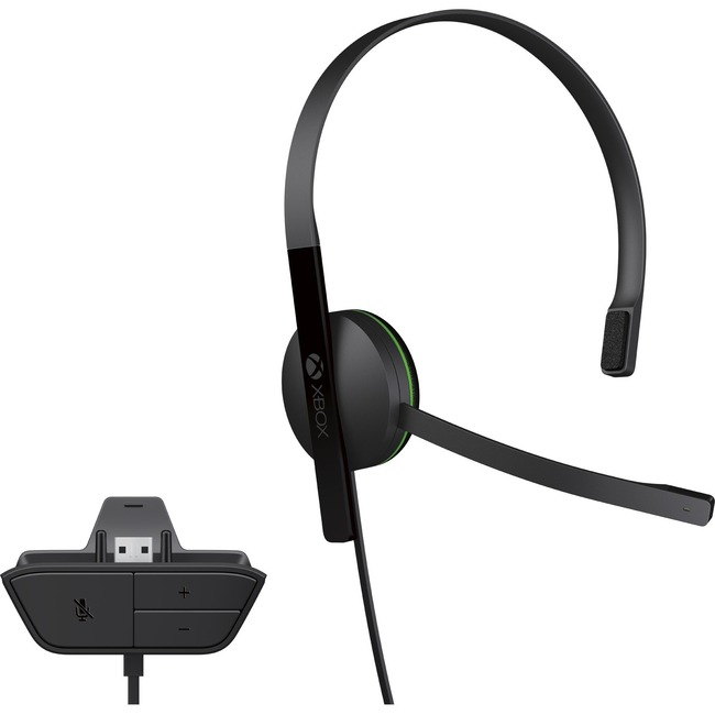 MICROSOFT Xbox Chat Headset - Mono - Mini-phone (3.5mm) - Wired