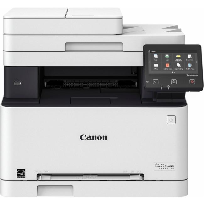 Canon MF MF632Cdw Laser Multifunction Printer - Color - Plain Paper Print - Desktop