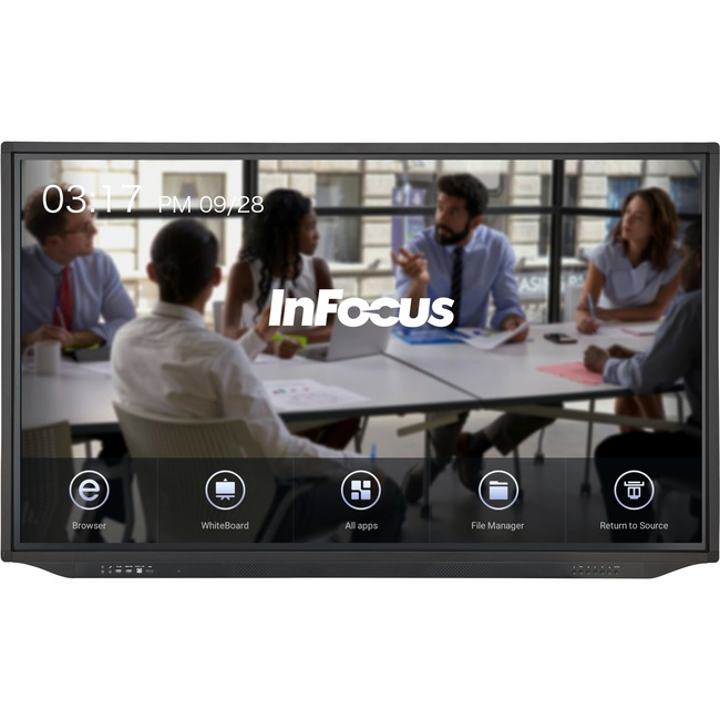 InFocus JTouch Plus 86-inch 4K Anti-Glare Display with Android