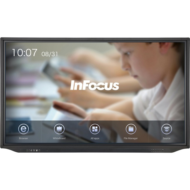 InFocus JTouch Plus 86-inch 4K Display with Android and Anti-Glare for Education