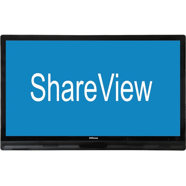 """InFocus ShareView IND6565 65"""" Edge LED LCD Monitor - 16:9 - 8 ms"""