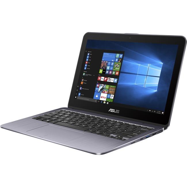 "Asus VivoBook Flip 12 TP203NA-WB01T 11.6"" Touchscreen LCD Notebook - Intel Celeron N3350 Dual-core (2 Core) 1.10 GHz - 4"