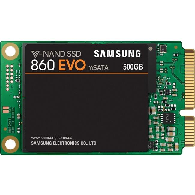 Samsung 860 EVO 500 GB Solid State Drive - SATA (SATA/600) - Internal - mSATA