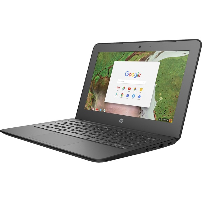 "HP Chromebook 11 G6 EE 11.6"" LCD Chromebook - Intel Celeron N3450 Quad-core (4 Core) 1.10 GHz - 8 GB LPDDR4 - 32 GB Flas"