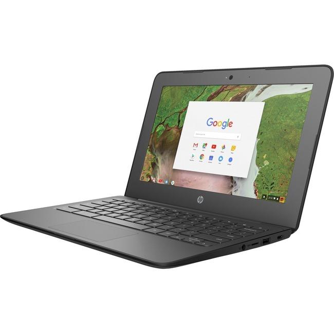 "HP Chromebook 11 G6 EE 11.6"" LCD Chromebook - Intel Celeron N3350 Dual-core (2 Core) 1.10 GHz - 4 GB LPDDR4 - 32 GB Flas"