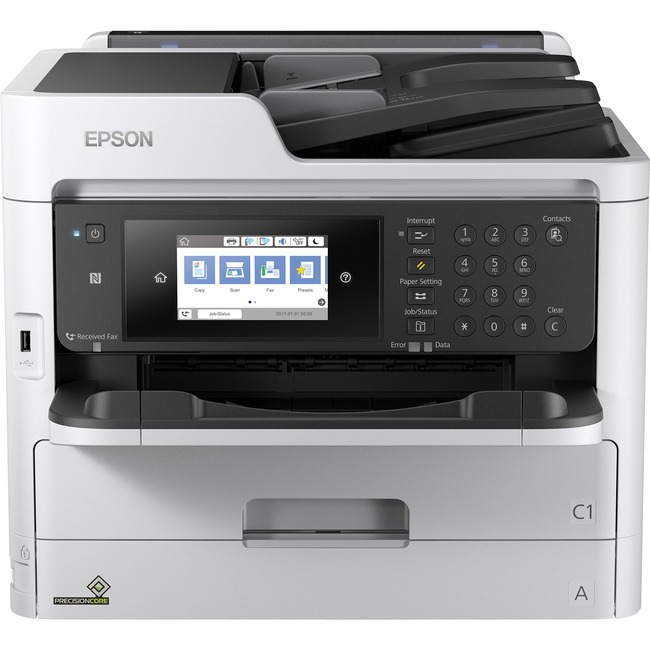 Epson WorkForce Pro WF-C5790 Inkjet Multifunction Printer - Color - Plain Paper Print - Desktop