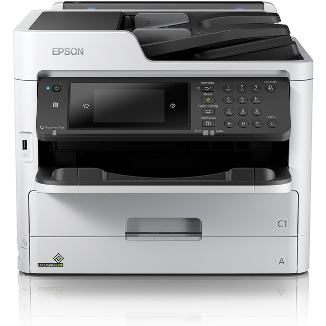 Epson WorkForce Pro WF-C5710 Inkjet Multifunction Printer - Color - Plain Paper Print - Desktop