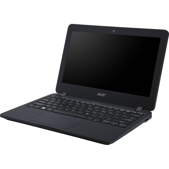 Acer TravelMate B1 B117-M TMB117-M-C1SH 29.5 cm 11.6And#34; LCD Notebook - Intel Celeron N3160 Quad-core 4 Core 1.60 GHz - 4 GB DDR3L SDRAM - 64 GB Flash Memory - Wind
