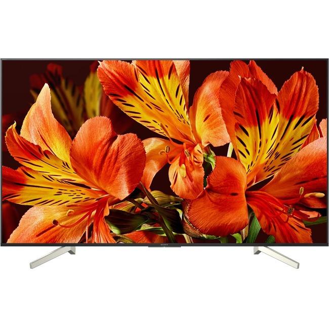 """Sony BRAVIA XBR X850F XBR-85X850F 84.6"""" 2160p LED-LCD TV - 16:9 - 4K UHDTV - Black, Silver Chevron"""