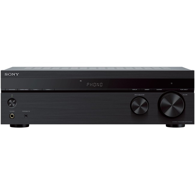 Sony Stereo Receiver With Phono Input and Bluetooth Connectivity