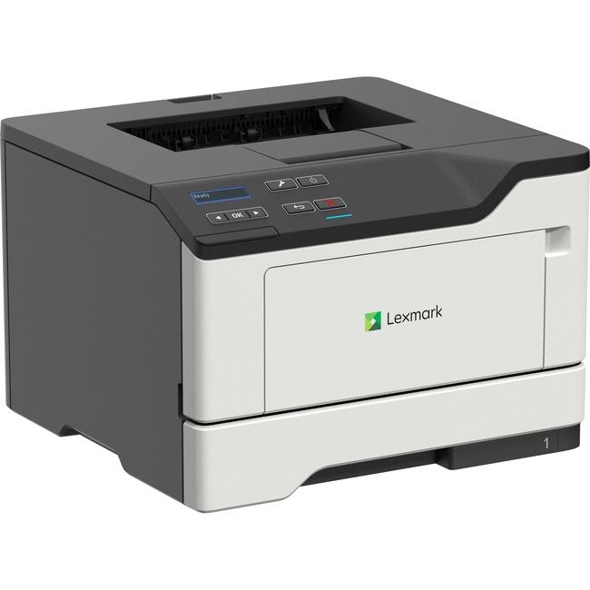 Lexmark MS420 MS421dn Laser Printer - Monochrome - 1200 x 1200 dpi Print - Plain Paper Print - Desktop