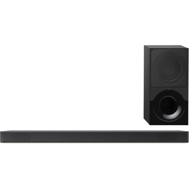 Sony HT-X9000F 2.1 Speaker System - 170 W RMS - Wireless Speaker(s) - Wall Mountable - Black