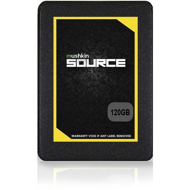 "Mushkin Source 120 GB Solid State Drive - SATA (SATA/600) - 2.5"" Drive - Internal"