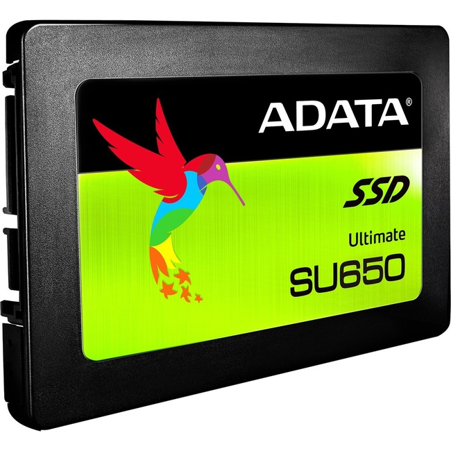 "Adata Ultimate SU650 SU650SS 120 GB Solid State Drive - SATA (SATA/600) - 2.5"" Drive - Internal"
